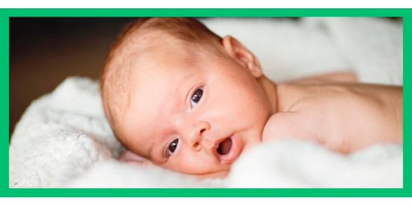 Правильный уход за глазками новорожденных